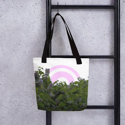 Lilac Circles Tote bag