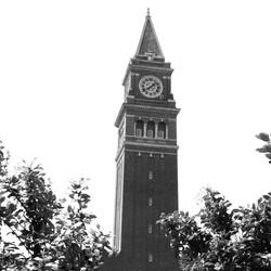 King Station Clock B&W