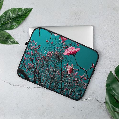 Laptop Magnolia Sleeve