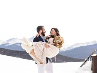 Vail Mountain Elopement | Colorado Wedding Photographer | Brogan Resch Photography