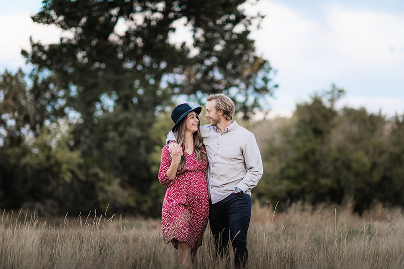 Wild and Free Engagement Photos