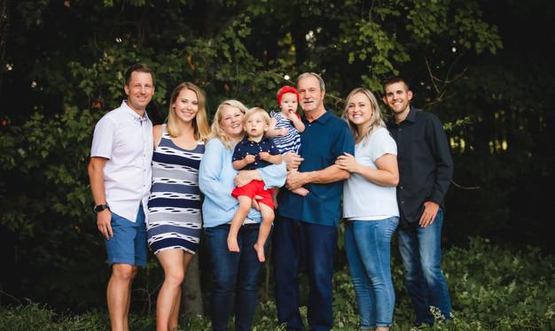 Summer Family Photo