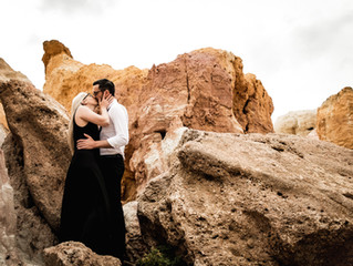 Brogan Resch Photography | Paint Mines, CO Engagement
