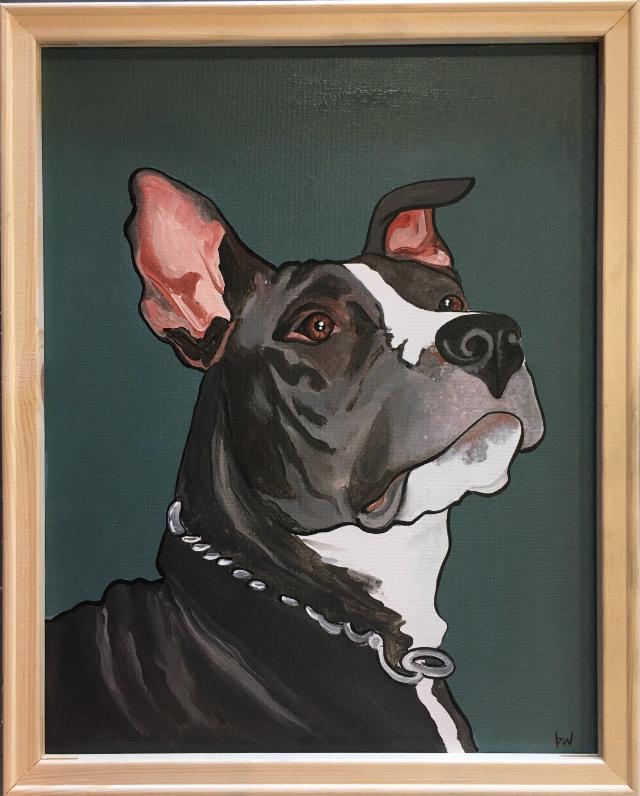 Pit Pet Portrait
