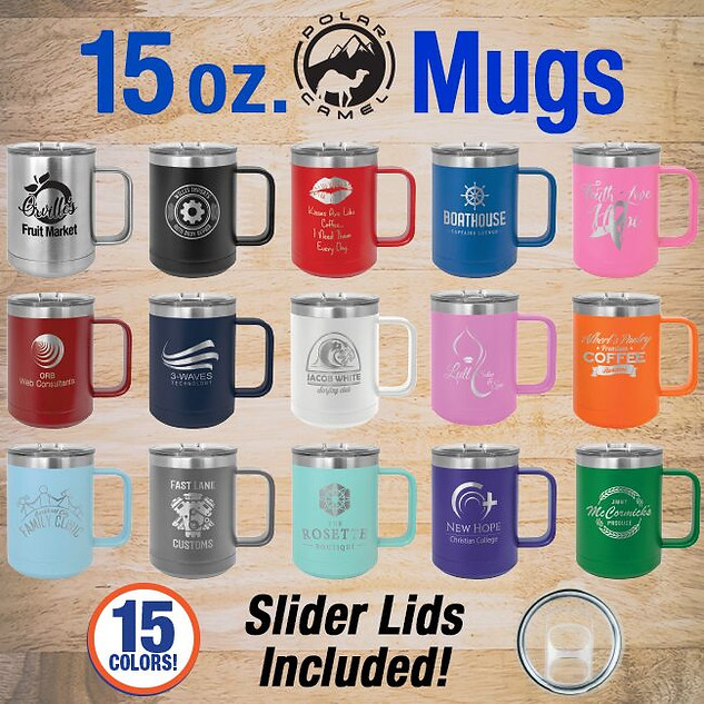 15 oz. Coffee Mugs