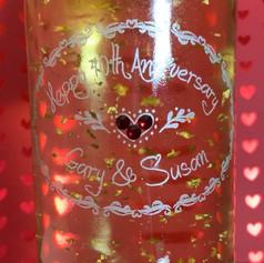 Engraved Sparkling Wine Bottle