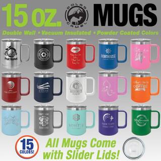 15 oz. Coffee Mugs