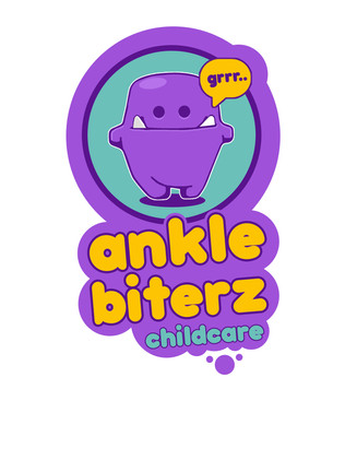 Playful, Illustrative and colorful logo for a childcare company based in Malta.