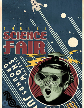 Another Poster Option for the Science fair held in the Netherlands.