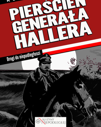 Cover for the second comic in the series for the Polish Military. This is the story of the esteemed general Haller.