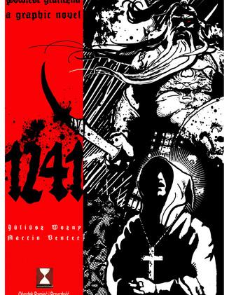 Cover Illustration for a Graphic novel.