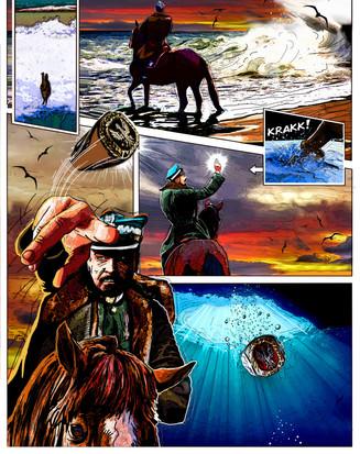 Sample 2 of General Haller comic.