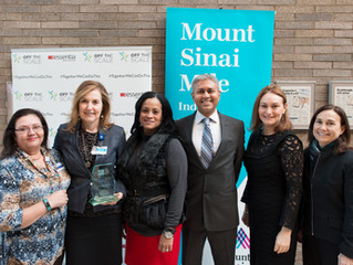 Off The Scale and Mount Sinai Awarded 2016 Kinetic Process Innovation Award