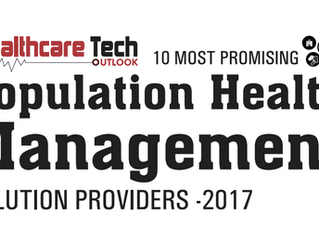 "OffTheScale Named to Healthcare Tech Outlook's ""10 Most Promising Population Health Management Solut"