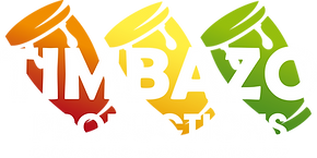Timbazo Productions logo white letters.p