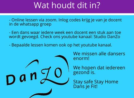 DanZo Danst Door! - Nieuwsbrief