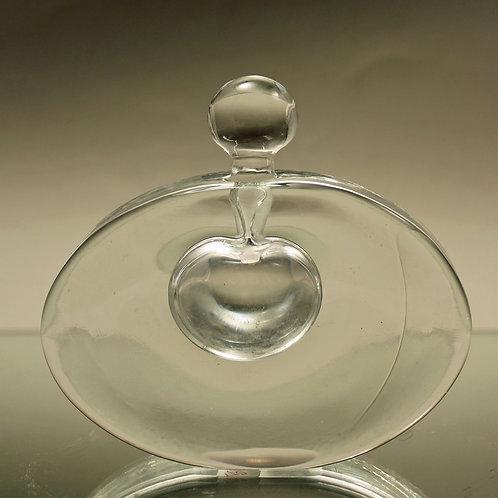 Studio Art Glass Scent Bottle, Goran Warff, Kosta