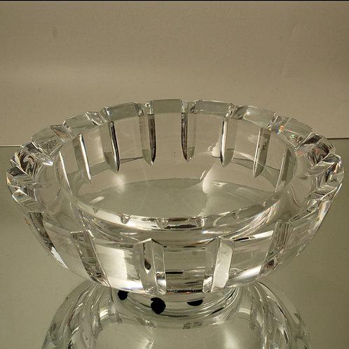 Crystal Bowl, Edwin Ohrstrom, Orrefors, Sweden