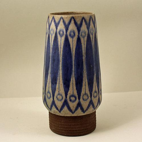 Thomas Toft, Denmark. Large Studio Vase. 1950's