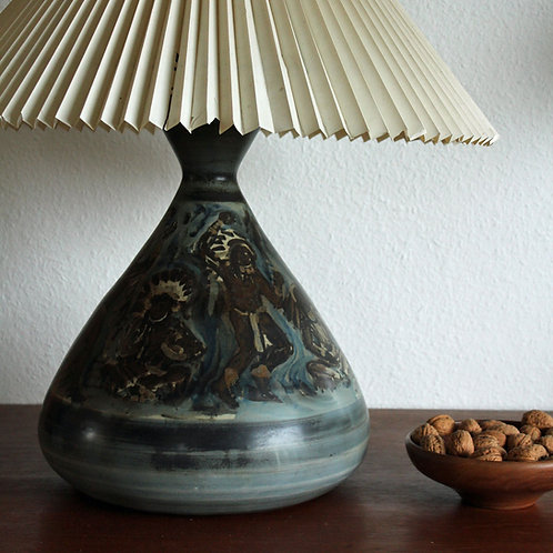 Gunnar Nylund, Bing & Grondahl. Huge Unique Lamp Base