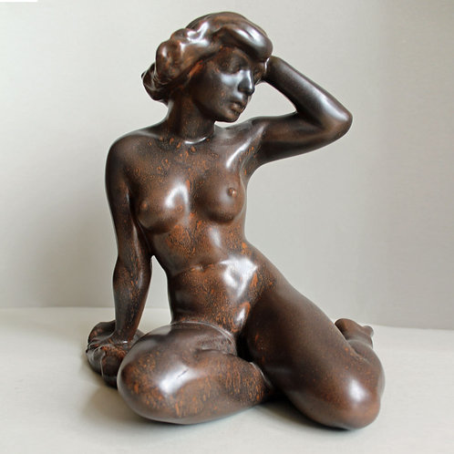 Ceramic SCULPTURE, Peder Hald, Own Studio