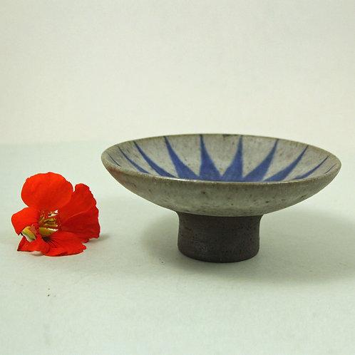 Thomas Toft, Denmark. Small Size Studio Pedestal Bowl