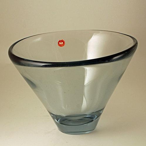 "Per Lutken Asymmetric Bowl ""Thule"" Holmegaard"