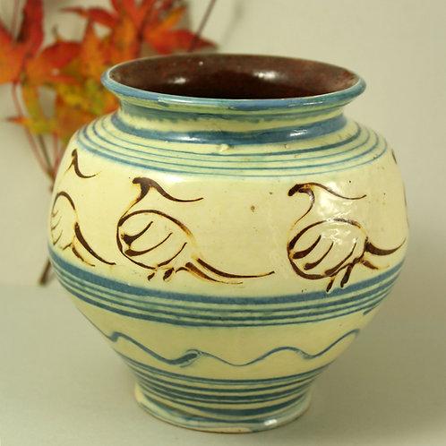 Herman Kahler, Denmark. 1920's Art Pottery Vase