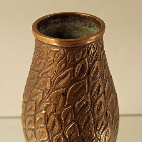 Tinos, Denmark. Art Deco Bronze Vase