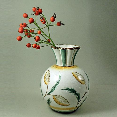 Ilse Claesson, Rorstrand, Sweden. Art Deco Vase