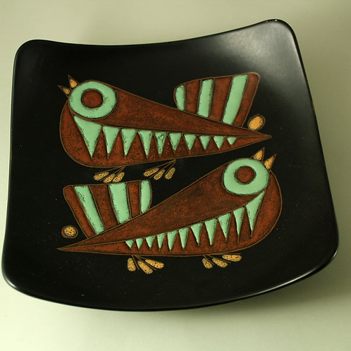 Marianne Starck for Michael Andersen, Denmark. Rare Wall-Hanging  Bowl
