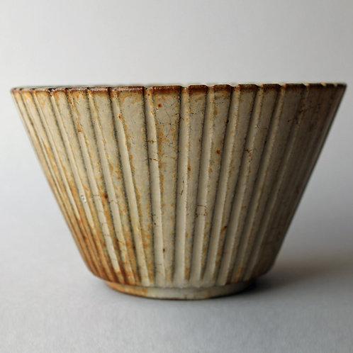 Arne Bang, Own Studio, Denmark. Fluted Bowl
