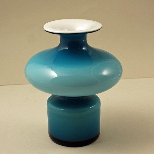 Art glass Carnaby Vase, Per Lutken, Holmegaard, Denmark