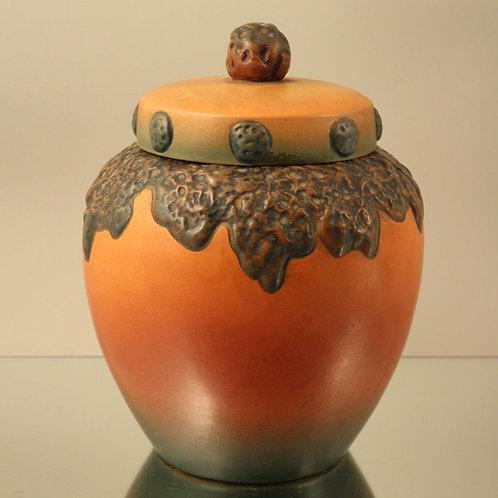 Art Nouveau Covered Jar, Ipsen's Enke, Denmark
