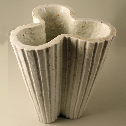 Gunnar Nylund, Rorstrand. Large Art Deco Chamotte Vase