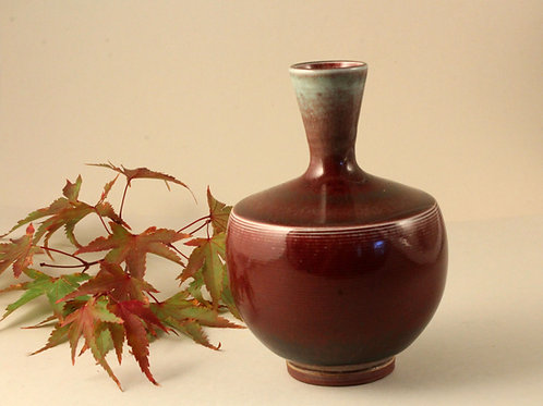 Unique Berndt Friberg Stoneware Vase, Gustavsberg