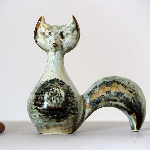 Fox Figurine, Joseph Simon, Soholm, Denmark