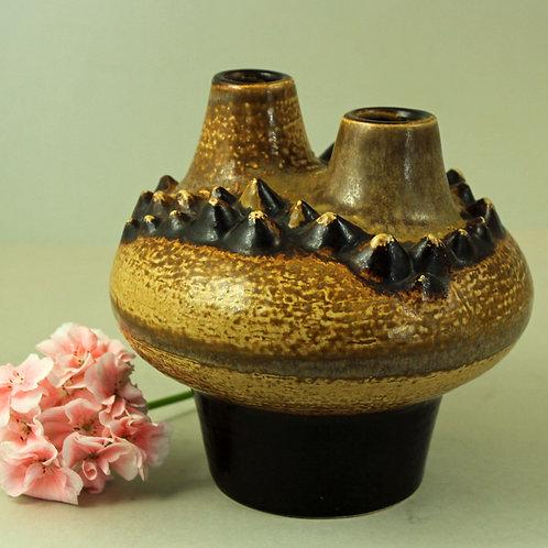 Einar Johansen, Soholm, Denmark. Unique Double Vase/Sculpture