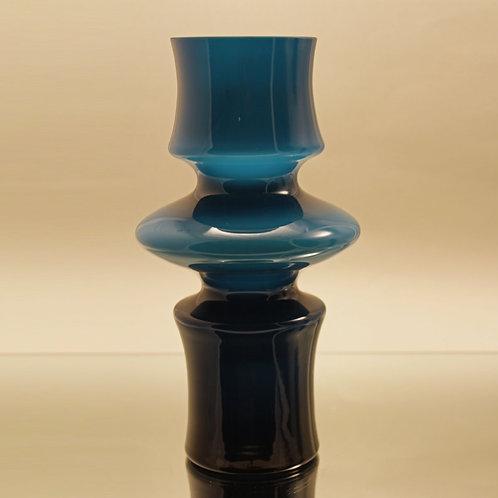 Cased Art Glass Vase, Bo Borgstrom Aseda, Sweden