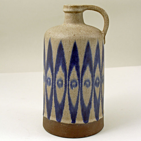 Thomas Toft, Denmark. Studio Bottle Vase. 1950's