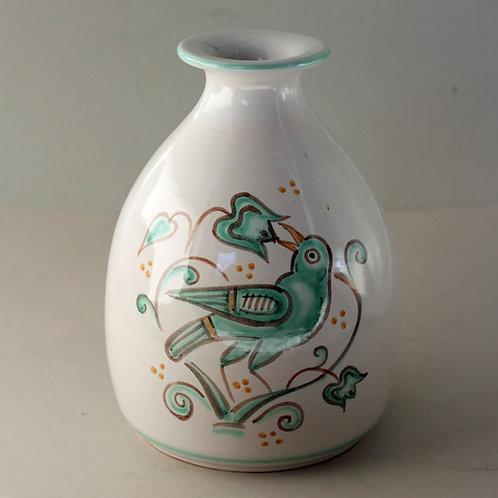 Painted Stoneware Vase, Gertrud Kudielka, L. Hjorth