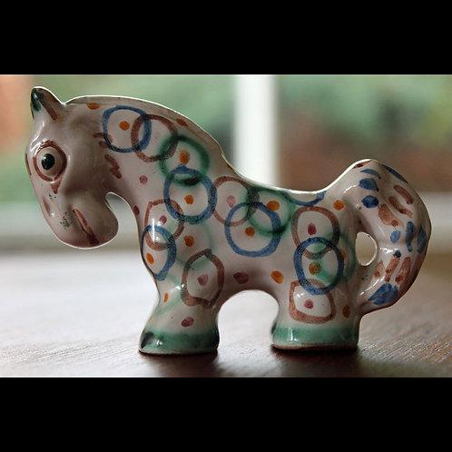 Rare Stoneware Horse Figurine, Gertrud Kudielka
