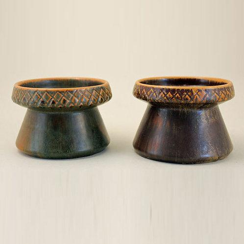 Modernist Candlestick Holders, Ejvind Nielsen,