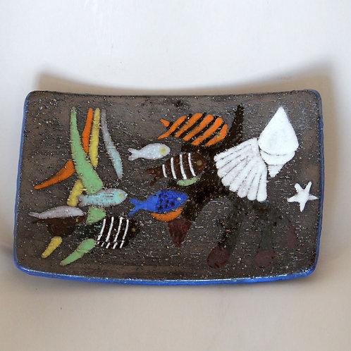 Anna-Lisa Thomson. Small Spectra Bowl, Upsala-Ekeby