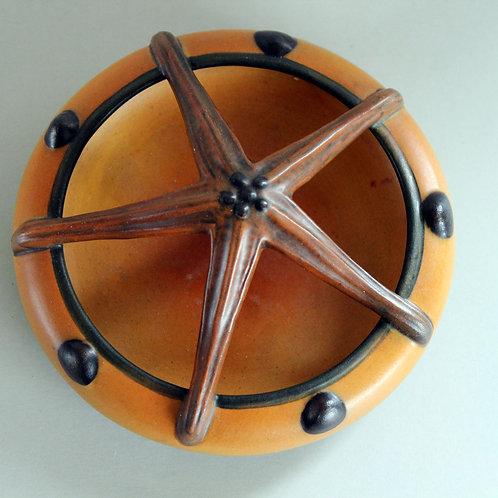Art Nouveau Starfish Bowl, Ipsen's Enke, Denmark