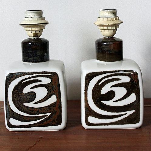 Pair of Lamp Bases, Carl-Harry Stalhane, Rorstrand