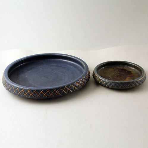 Ejvind Nielsen, Denmark. Mid Century Ceramic Bowls