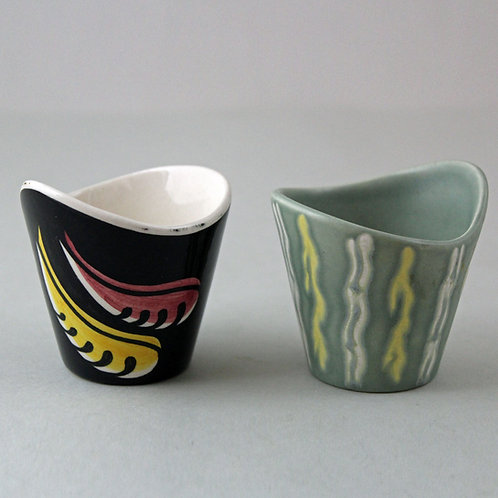 Pair of rare Cups, Søholm, Denmark
