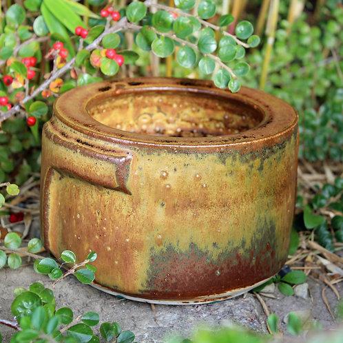 Nis Stougaard, Bormholm, Denmark. Heavy Stoneware Jar