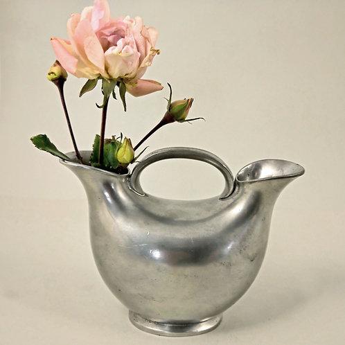 Just Andersen, Denmark.  Art Deco  Pewter Double Vase